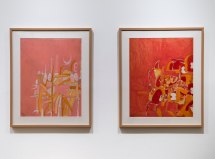 K.G. Subramanyan (1924 - 2016) | Untitled | Circa late 1960s | Mixed media and collage on paper (2 works) | Courtesy: Seagull Foundation for the Arts and Chatterjee & Lal