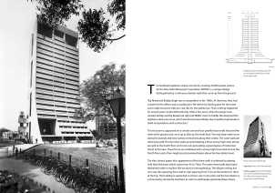 Page Spread: NDMC City Centre, New Delhi, 1983.