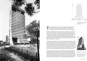 Page Spread: NDMC City Centre, New Delhi, 1983.