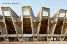 Page Spread: Municipal Stadium, Ahmedabad, 1965.