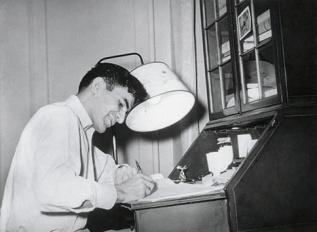 Mahendra Raj at his home in New York.