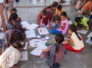 Workshop with children