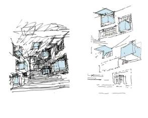 Sketches of the IIM Bangalore Classroom
