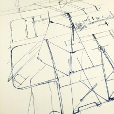 Sketch: process for 'A Table that Almost Wasn't'