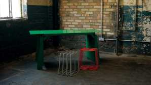 'A Table that Almost Wasn't' with 'Grid' seats