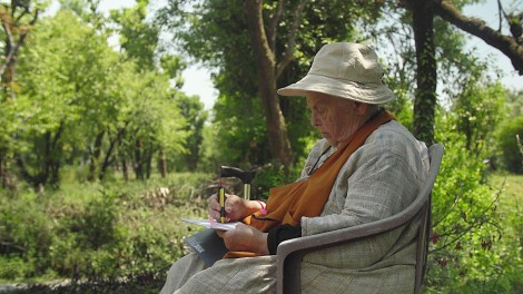 Still from the Film: In her garden - Didi Contractor