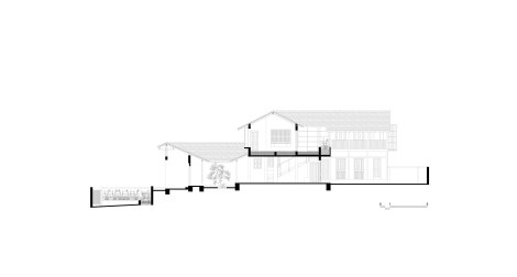 Sectional Visualisation of the House