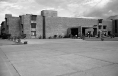 IIM Bangalore: Archival Photograph of the West Wall