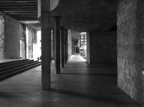IIM Bangalore: The Passage that Leads to The Library