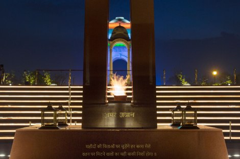 Eternal Flame of the obelisk. ©Maniyarasan
