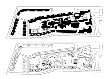 PLAN: The Jain Temple Figure-Ground and Scheme