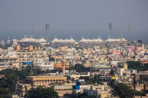 M.A. Chidambaram (Chepauk) Stadium and its environs