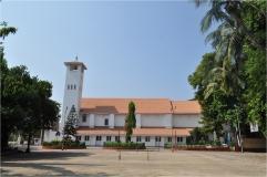 Eastern Facade of the Church